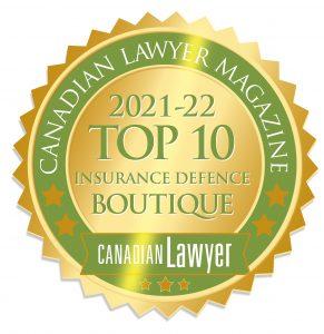 CBM Top 10 Insurance Defence Boutique Emblem